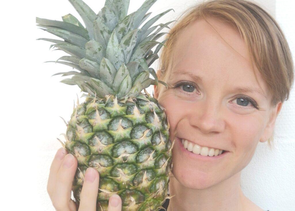 malene og ananas